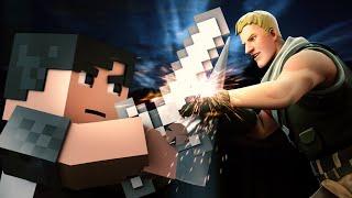 "♪""Bad Fighter"" - A Minecraft Original Music Video vs Fortnite ♪ - Imagine Dragons Parody ""Bad Liar"""