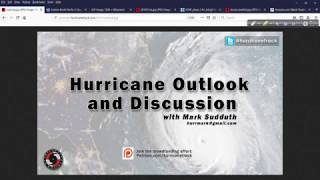 September 9, 2019 Hurricane Outlook and Discussion
