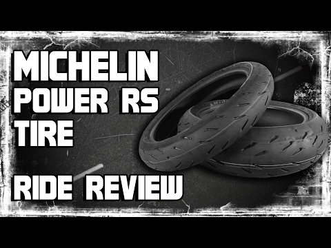 Michelin Power RS Tire Ride Review from Sportbiketrackgear.com