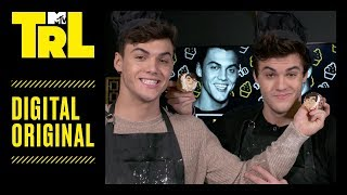The Dolan Twins Bake Cupcakes For Each Other on Their 18th Birthday | TRL
