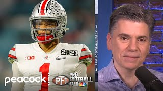 Why was Justin Fields' epilepsy made public? | Pro Football Talk | NBC Sports