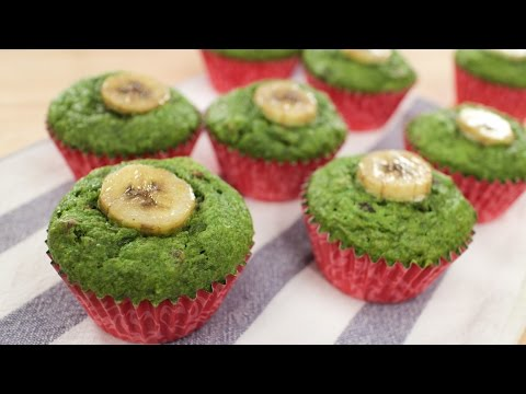 Healthy Popeye Muffin Recipe 🌱  - Pai's Kitchen!