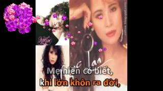 Mẹ Hiền Yêu Dấu - Karaoke (với tiếng hát Ngọc Lan)