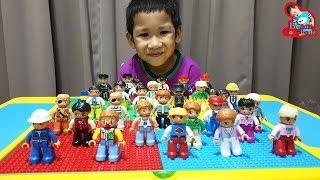 น้องบีม   รีวิวของเล่น EP162   ละครสั้นโต๊ะตัวต่ออาชีพในฝัน Toys