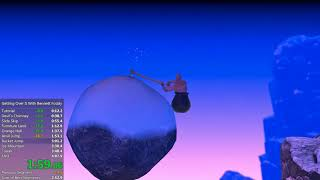 Getting Over It with Bennett Foddy - 3m 34s Speedrun