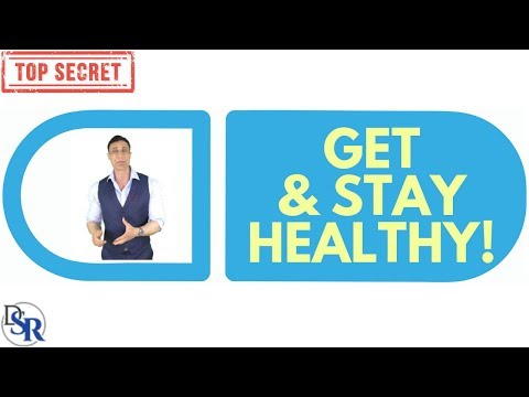 👉 THE Secret To Getting AND Staying Healthy For LIFE!