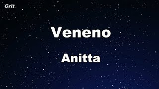 Veneno   Anitta Karaoke 【No Guide Melody】 Instrumental
