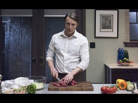 [ASMR] hannibal lecter cooking