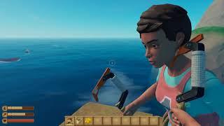 Raft #1 - Game Sinh Tồn Cực Hay Trên Biển, Lần Đầu Mình Chơi Thử!