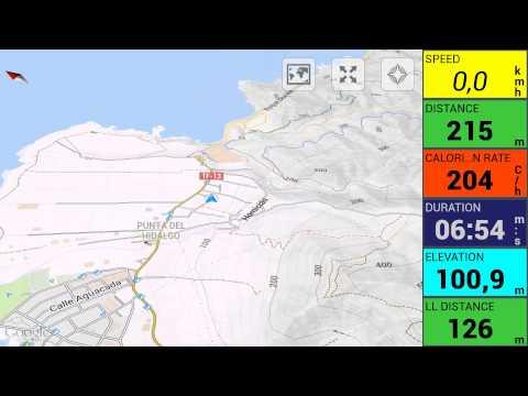 Video of Momentum Tracker: GPS run bike