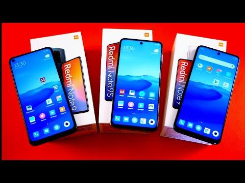 СРАВНЕНИЕ ВСЕХ Xiaomi Redmi Note 9, 9S и 9PRO / Арстайл /