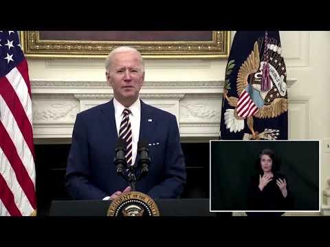 Biden pushes for $15 minimum wage
