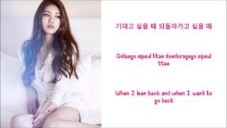 Pretending to be Happy - Suzy (of Miss A) Lyrics [ENG+ROM+HAN]