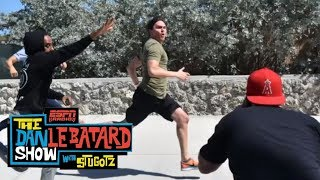 Producer Guillermo is going to be a star on American Ninja Warrior | Dan Le Batard Show | ESPN