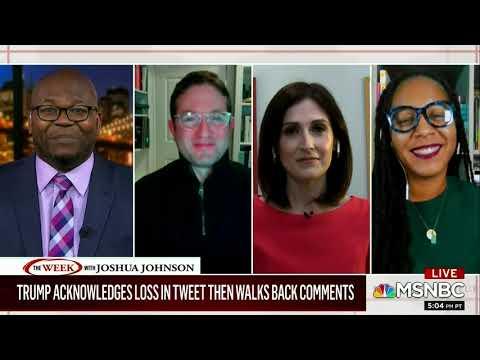 MSNBC Victoria DeFrancesco Soto on Trump Concession Tweet and Biden Acceptance 11/15/20