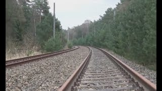 preview picture of video '23. April 2013: Wanderung auf der stillgelegten Kanonenbahn bei Wiesenburg (Mark)'