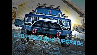 Jeep Cherokee LED Headlights under $100