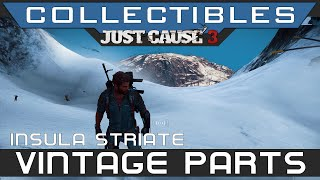 Just Cause 3 - All Vintage Parts Insula Striate Location Guide (Carmen Albatross Vehicle)