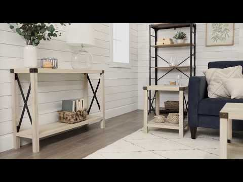 Video for White Oak Side Table