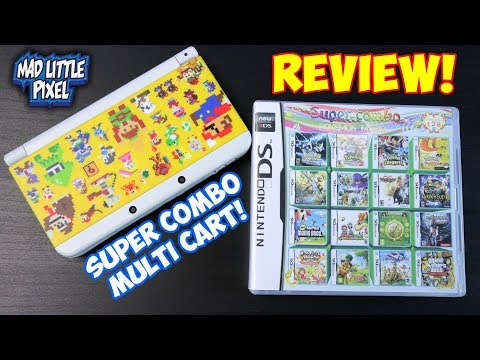 Super Combo 208 In 1 Nintendo DS Multi Cart For 3DS! Random Ebay Gaming Purchase!