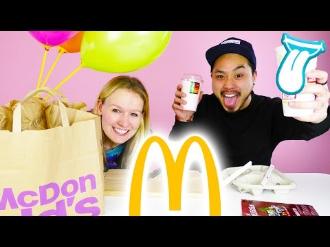 MC DONALDS MONOPOLY Test|Big Tasty Bacon,Shrimps, Apfeltasche und Chicken Box | KATHI & YOSHI