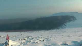 Перевал Дятлова, февраль 2014 - ч.1/5