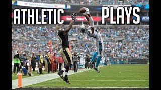 "NFL Best ""Athletic"" Plays || HD (Part 2)"