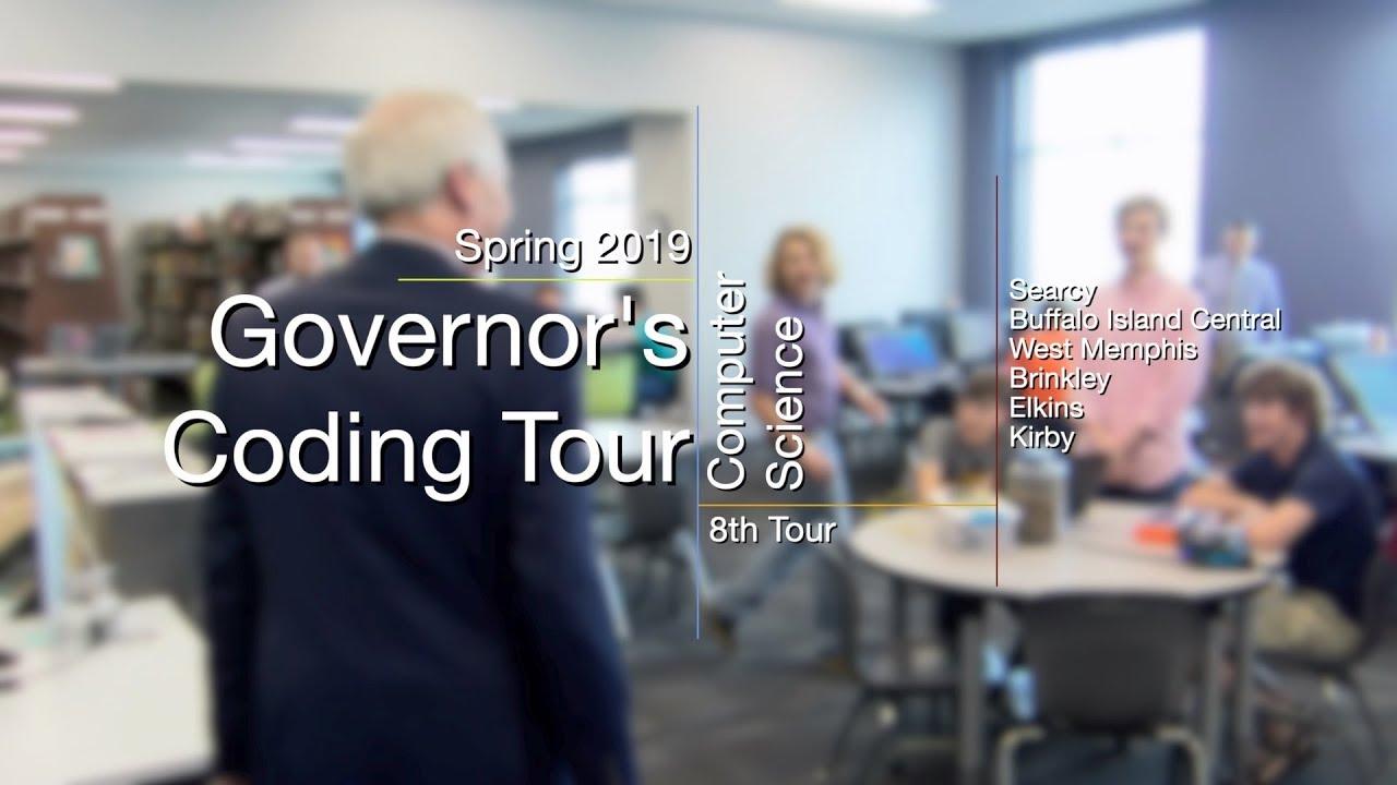 Governor's Coding Tour - Spring 2019