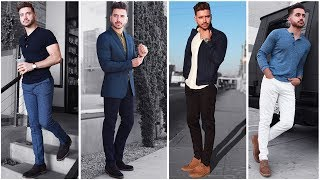 4 Easy Outfits For Men | The Blue Lookbook | Mens Fashion Inspiration Fall 2017