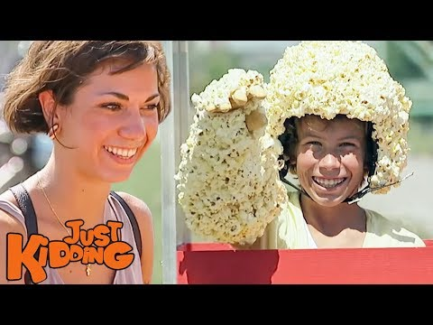 Pop-Out Popcorn Prank