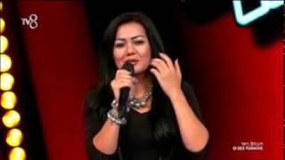 Nişana Alimova - 'Enta Eih' - O Ses Türkiye - (The Voice Turkey)