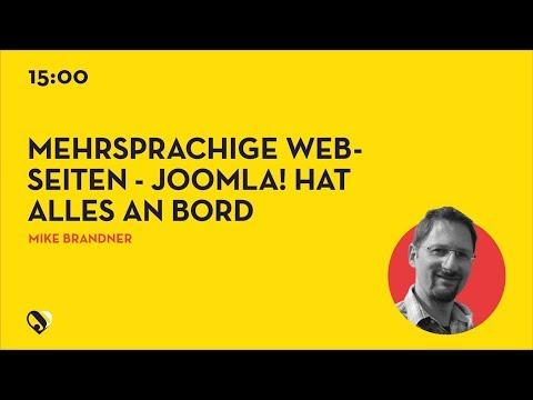 JD19DE - Mehrsprachige Webseiten - Joomla! hat alles an Bord