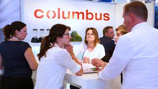 Live von der Interclean 2018: columbus Reinigungsmaschinen