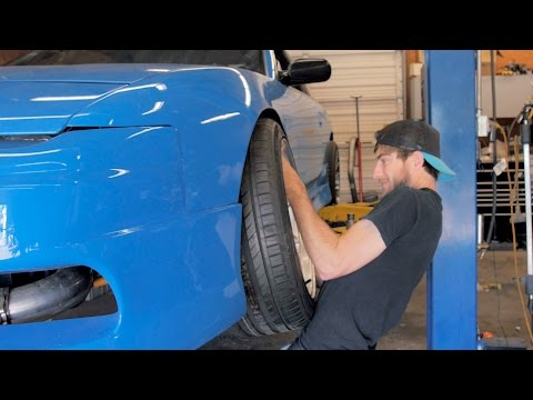 BLUEJZ Nissan 240sx! - New Wheels and Stance!