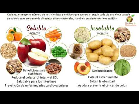 Frutas y frutos secos en la lista de la diabetes