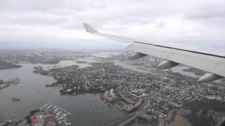 LANDING AT SYDNEY AIRPORT