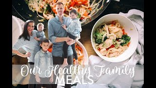 WHAT WE EAT IN A DAY | Family Of 5 | Healthy Family Meals