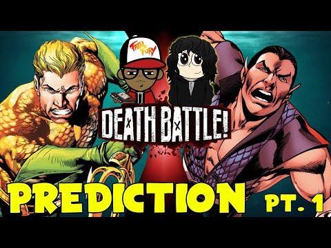 AQUAMAN vs NAMOR!!!   DEATH BATTLE Prediction Part 1