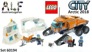 Lego City 60194 Arctic Scout Truck - Lego Speed Build Review