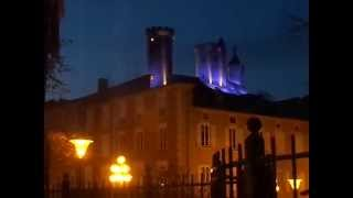 preview picture of video '2015 Holidays season in Foix 09, capital of the Ariege department, France'