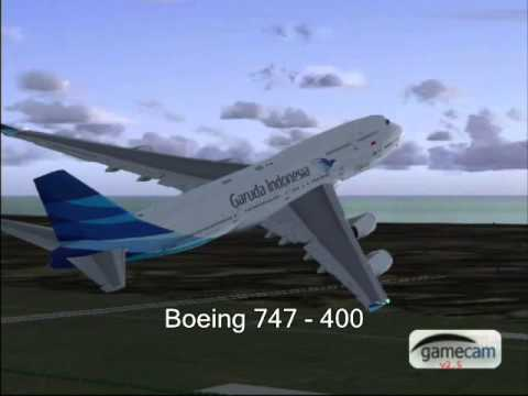GARUDA INDONESIA AIRLINES (flight Simulator)