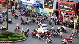 2015越南機場飛機起降街景~