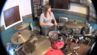 Avril Lavigne What The Hell  Drum Cover  - Jess Watson