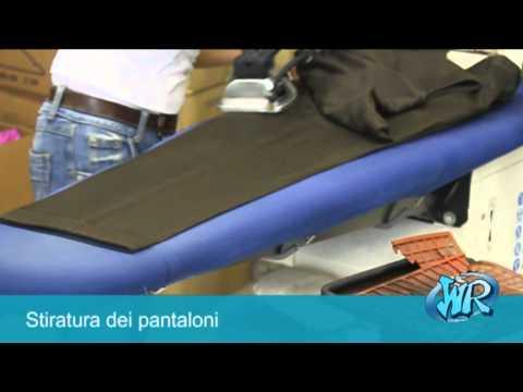 Stiratura Pantaloni - Metodo di Lavoro WashRapid