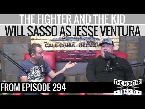 Will Sasso's Jesse Ventura impersonation is a gift from the heavens