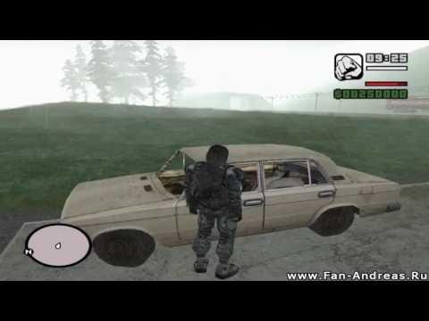 GTA San Andreas Чернобыль Зона Припять | Demo version | Global Mods