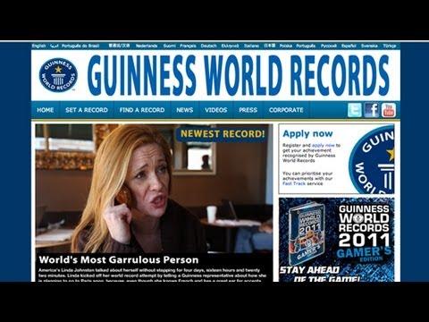 Žena vytvořila nový rekord - The Onion
