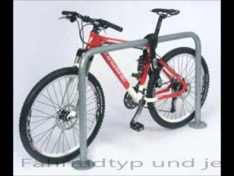 Anlehnbügel Modellreihe 9100 - Fahrradständer von fahrradstaender-onlineshop.de