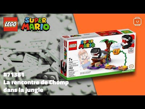 Vidéo LEGO Super Mario 71381 : La rencontre de Chomp dans la jungle - Ensemble d'extension