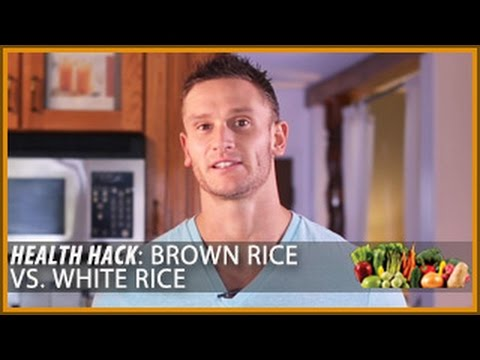 Video Health Hack: Brown Rice vs. White Rice- Thomas DeLauer
